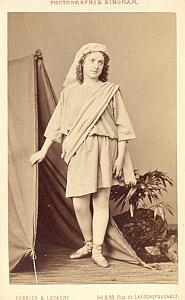 Roze Marie Soprano Early Opera old CDV Photo 1860'