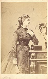 Ildegarde Sarolta Soprano Early Opera CDV Photo 1860'