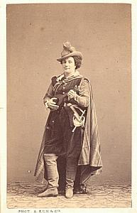 Dame Ugalde Soprano Early Opera old CDV Photo 1860'