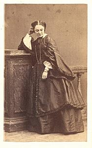 Mlle Vade Early Opera old CDV Photo 1860'