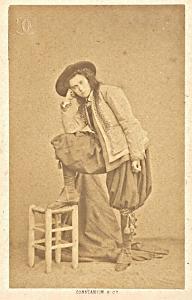 Mlle de Wurtenberg Early Opera old CDV Photo 1860'