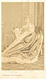 Hortense Schneider Offenbach Early Opera CDV Photo 1865