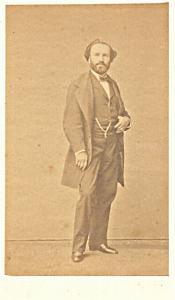 Marc Bonnehee Baryton Early Opera old CDV Photo 1860'