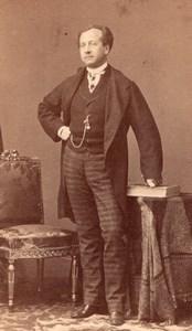 Brepand Early Opera old CDV Photo 1860'