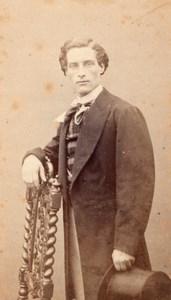 E. Chevaliez Early Opera old Signed CDV Photo 1860'
