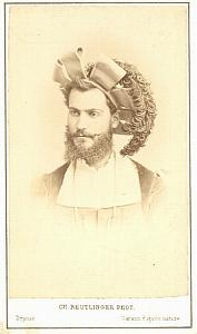 Jules Devoyod Baryton Early Opera old CDV Photo 1860'