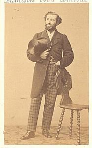 Dumestre Baryton Early Opera old CDV Photo 1860'