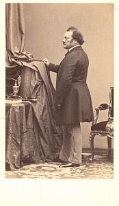 Gilbert Louis Duprez Tenor Early Opera CDV Photo 1860'
