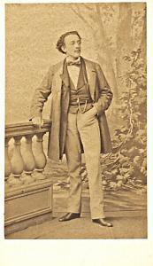 Duprez Fils Tenor Early Opera old CDV Photo 1860'