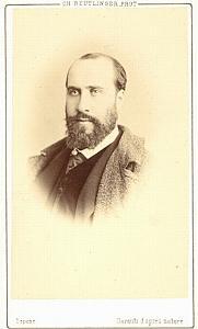 Jean Baptiste Faure Baryton Early Opera CDV Photo 1860'