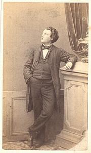 Jules Gourdon Tenor Early Opera old CDV Photo 1860'