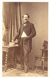 M. Meapol Early Opera old CDV Photo 1860'