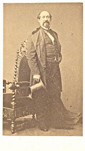 Morelli Baryton Early Opera old CDV Photo 1860'