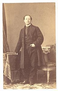 Elie Nathan Tenor Early Opera old CDV Photo 1860'
