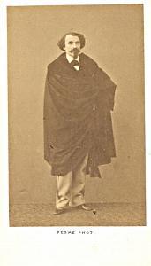 Portheaut Porto Baryton Early Opera old CDV Photo 1860'