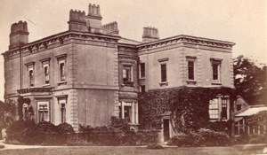 Manor near London UK, old Hazard CDV Photo 1860'