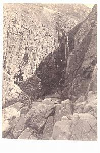 Water Fall Jersey, old Godfray CDV Photo 1860'