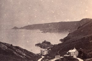 Bouley Bay Jersey, old Godfray CDV Photo 1860'