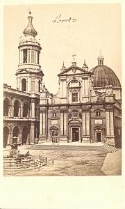 Loreto Chiesa Italy old CDV Photo 1860'