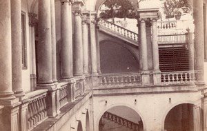 Genova University Italy old Degoix CDV Photo 1860'