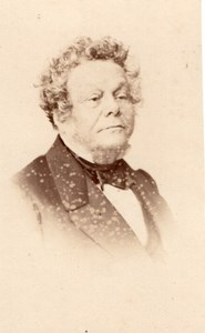 Cremieux Isaac french politician, old CDV Photo 1860'