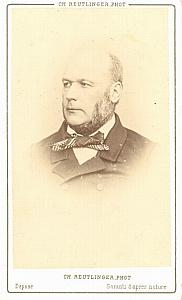 Jules Grevy french President old CDV Photo 1860'