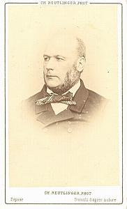 Jules Grevy french President old CDV Photo 1860'
