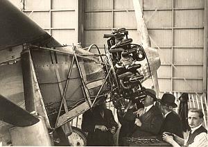 Inspecting Spirit of Saint Louis Le Bourget Photo 1927