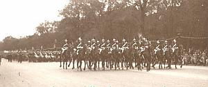 Victory Day Military Defile Paris 1919 Photo panorama