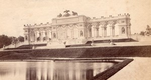 Gloriette Schonbrunn Palace Austria old Photo 1880'