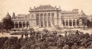 Stadtpark Wien Austria old Photo 1880'