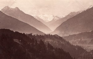 Anssicht Schonberg Austria old Photo 1880'