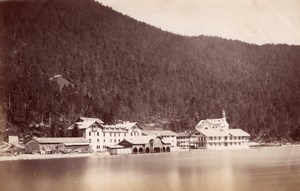 Achensee Scholastica Austria Finsterlin old Photo 1880'