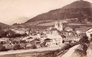 Steinach Brennerbahn Railway Austria old Photo 1880'