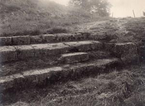 Gallo-Roman Site Champlieu Oise Archeology Photo 1900'