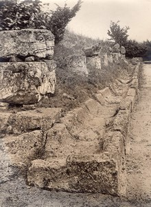 Gallo-Roman Site Champlieu Oise Archeology Photo 1900'