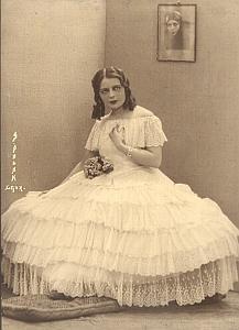 Actress Paule Dagreve Brussels old Polak Photo 1932