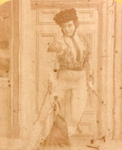 El Matador comic scene Paris Old Stereo Photo 1860