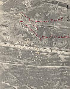 Romania Front WWI Russian Army aerial view 1917