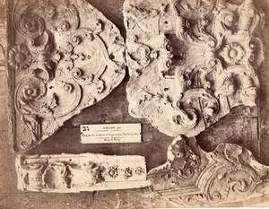 Bercy Castle Rouyer Sculptor old Durandelle Photo 1860'