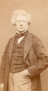 Samson Actor Comedie Française Carjat CDV Photo 1860'