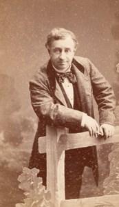 Got actor Comedie Française old Bacard CDV Photo 1870'