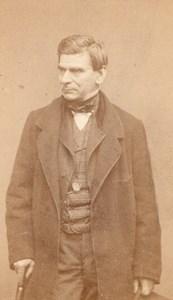 Monrose actor Comedie Française Carjat CDV Photo 1860'