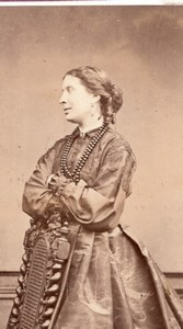 Favart actress Comedie Française old CDV Photo 1860'