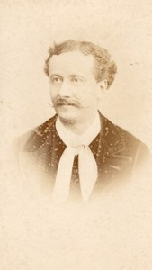 Delaunay actor Comedie Française old CDV Photo 1860'