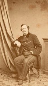 Dupuis actor Comedie Française Plumier CDV Photo 1860