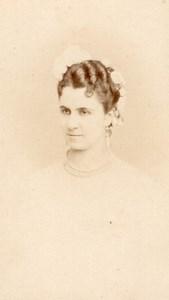 Rousseil actress Comedie Française old CDV Photo 1860'