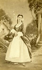Didier actress Comedie Française old CDV Photo 1860'