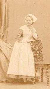 Delaporte actress Comedie Française old CDV Photo 1860'
