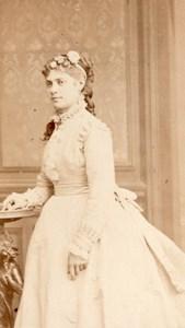 Dewintre actress Comedie Française old CDV Photo 1860'